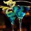 коктейл Сапфирено мартини