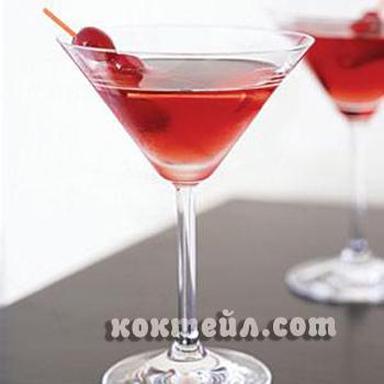 коктейл Бърбън слоу джин