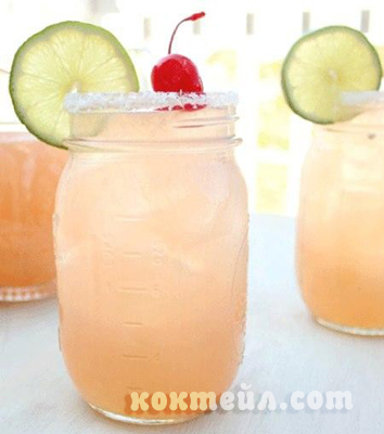 коктейл Грейпфрут лед