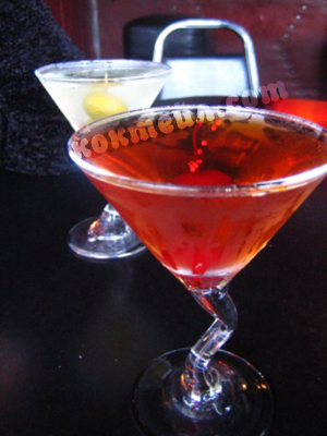коктейл Добс мартини