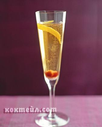 Класически коктейл с шампанско