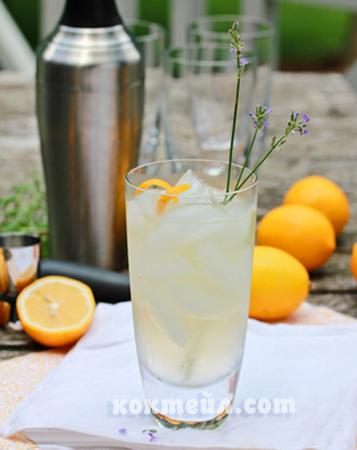 коктейл Колинс лимонова трева
