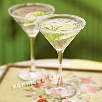 коктейл Леден зелен лимон