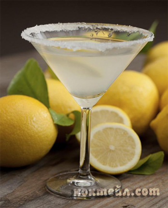 коктейл Лимоново мартини