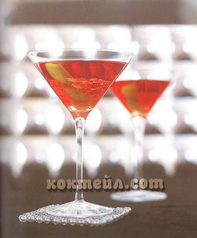 Коктейл Мафиотско мартини