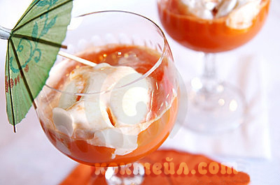 коктейл Морковена сметана