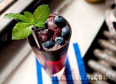коктейл Река от  джин