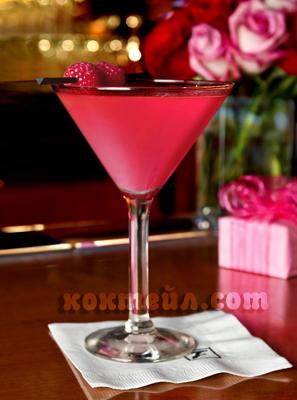 коктейл Розова камелия