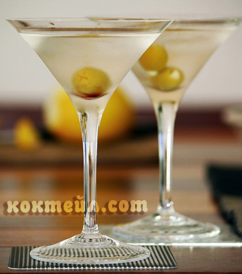 коктейл Сухо мартини