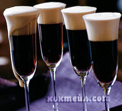 коктейл Черно кадифе